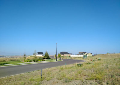 View from currently available lot in the west